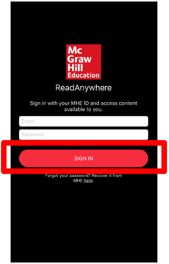 Downloading and Using the McGraw-Hill ReadAnywhere App